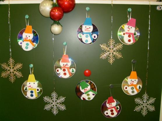 С детьми новогодние украшения